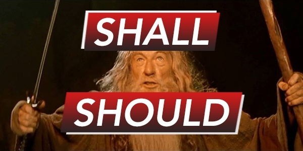 Shall & Should