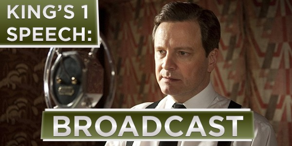 King's Speech (Broadcast)
