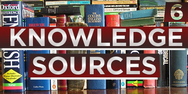 6 Knowledge Sources