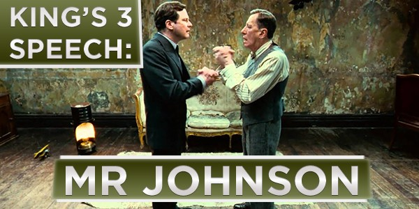 King's Speech 3 (Mr Johnson)